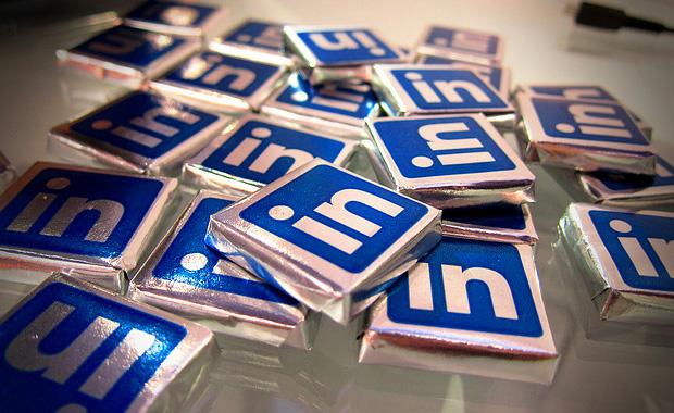 LinkedIn branding design chocolates