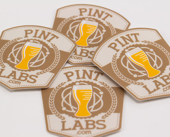 Pint Labs Stickers