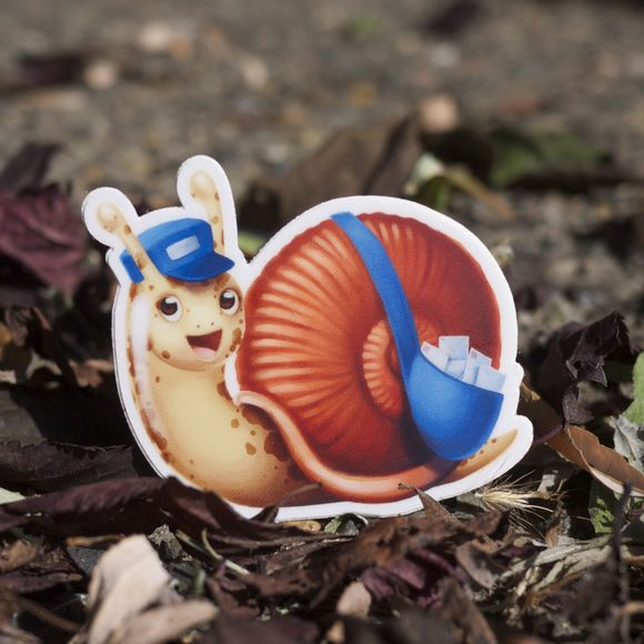 Snail Drop Stickers