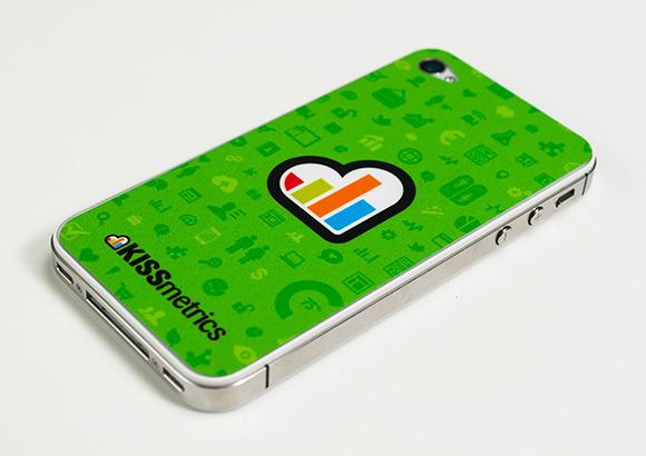 KISSmetrics iPhone Skin