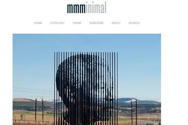 web design minimal layout whitespace