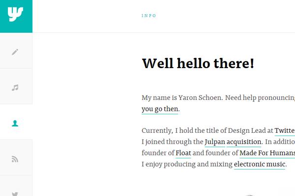 basic minimal portfolio inspirational layout