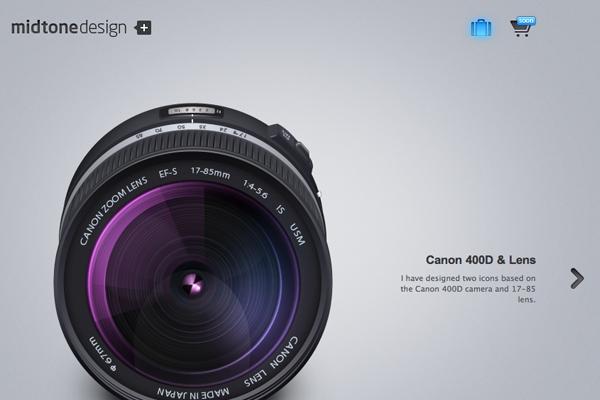 Midtone Design Agency studio homepage portfolio
