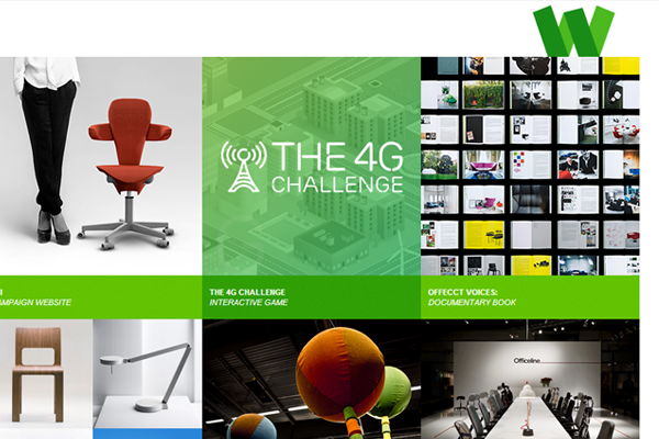 Wolfgang portfolio studio website layout
