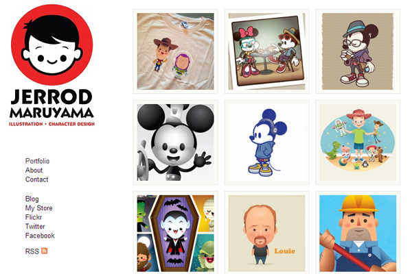 Character Design Web : Portfolio project listings for design inspiration
