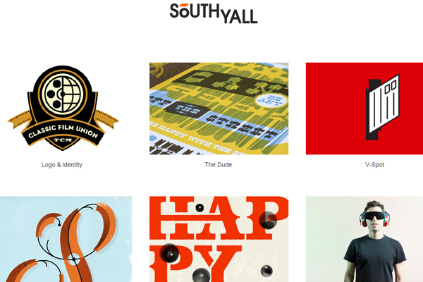 portfolio website layout designer Patrick Macomber