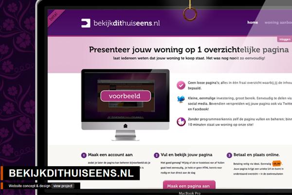 frontend dynamic website layout portfolio Ivo Ruijters
