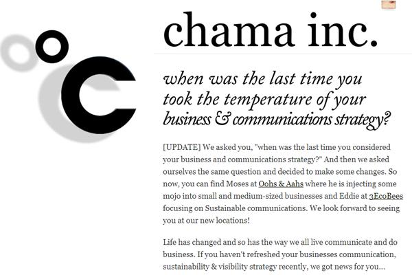 Chama Inc Business communication strategies