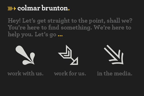 dark website layout designs interface