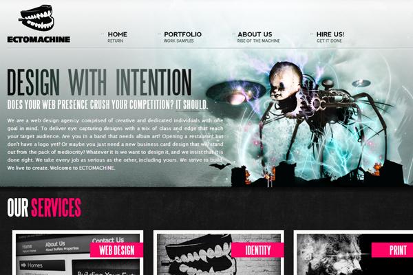 creative website branding ectoplasm agency portfolio