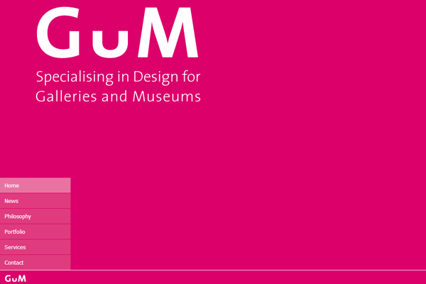 Gum United Kingdom Studios Exhibition Museum designs