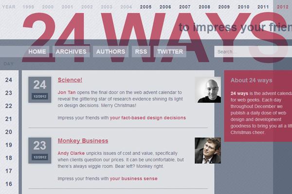 24ways web design ui blog articles