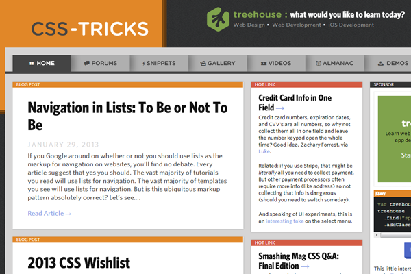 Chris Coyier csstricks css3 properties tuts code snippets
