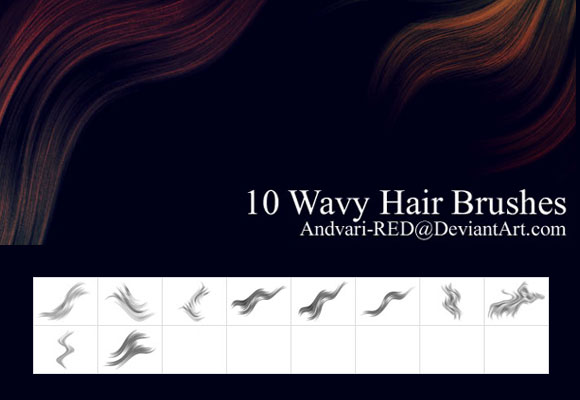 Wavy Hair Brushes