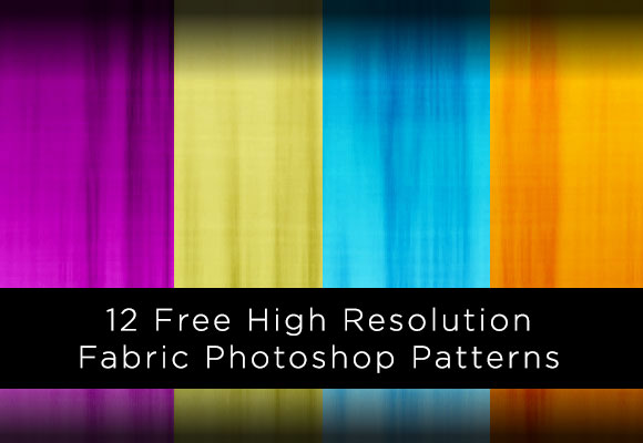12 Free High Resolution Fabric Photoshop Patterns
