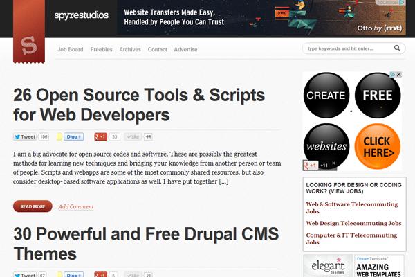 web design tutorials spyrestudios 2013 magazine