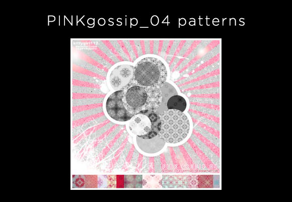 PINKgossip_04 patterns