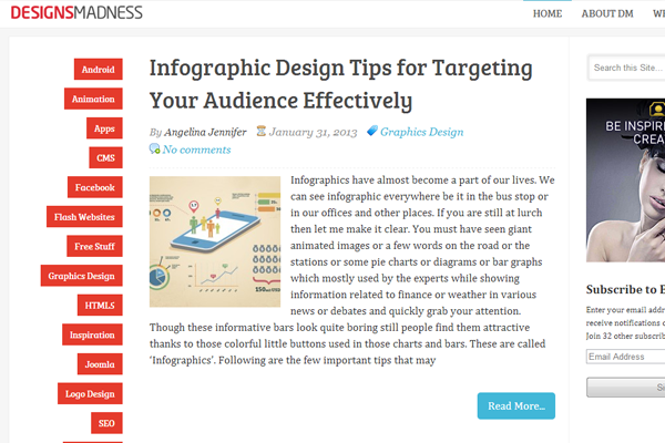 designs madness website blog inspiring posts