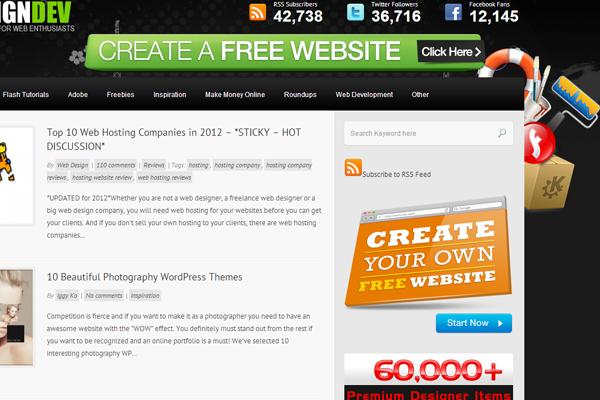 web design dev tutorials articles magazine blog