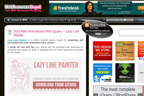 webresources depot layout 2013 design blog