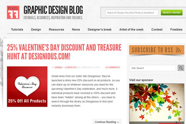web design magazine blog inspiration pixel77 layouts