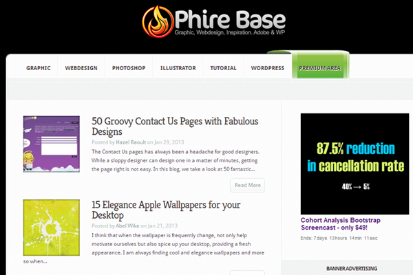 Phirebase Agency Web Design Blog Articles
