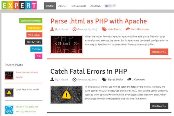 web developers magazine tutorials online xpert developer