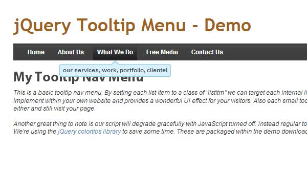 tooltips tutorial navigation bar tutorial