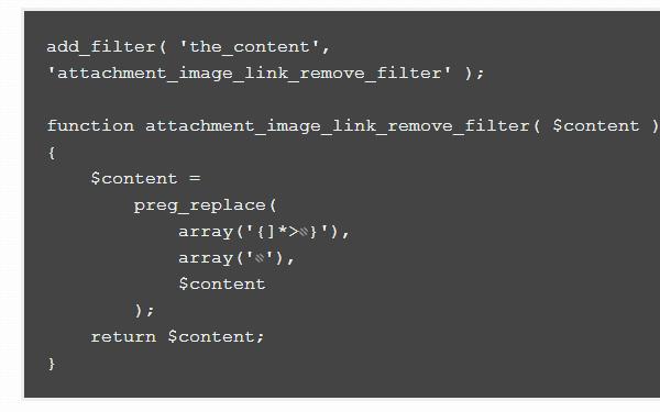 custom php coding wordpress links external