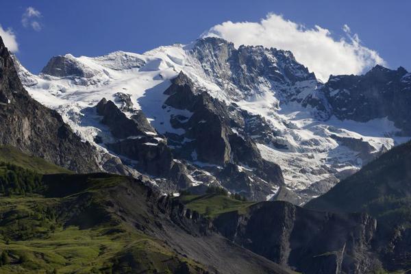 landscape mountains grenbole france snowy landscape