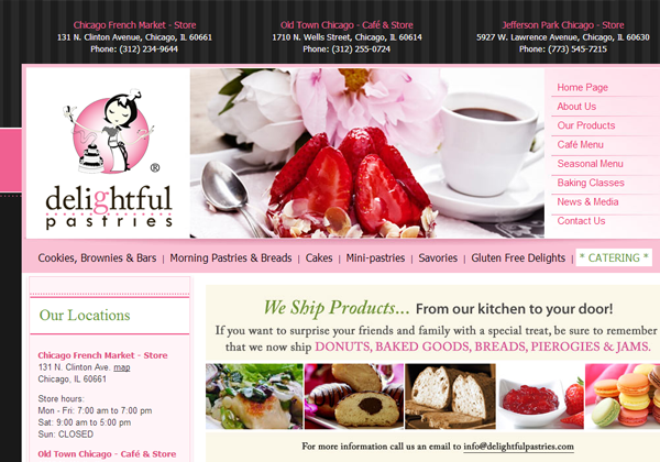 delightful pastries website ui design inspiring layouts