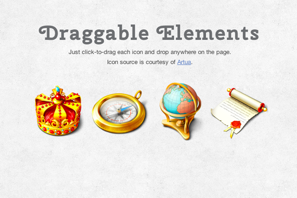 jquery ui draggable drag elements html5 howto tutorial