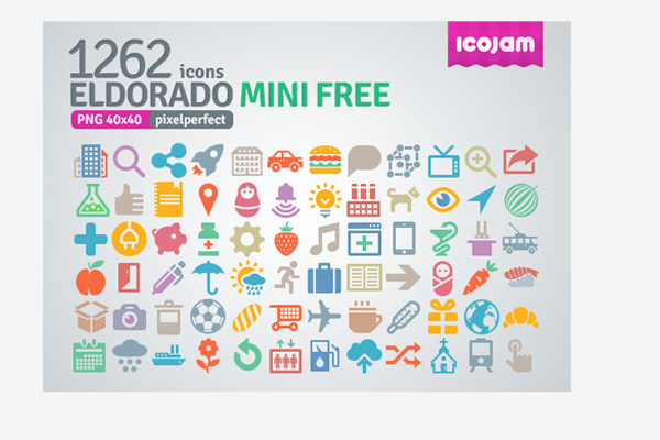 eldorado icons set freebie icojam download