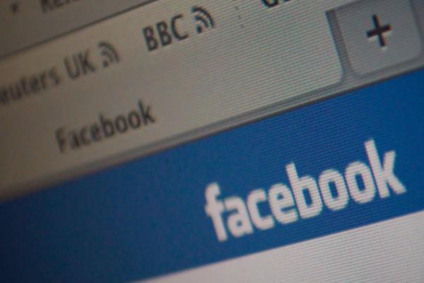 facebook social networking website homepage