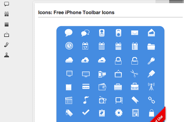 uitabbar pixelpress icons freebie set download iphone