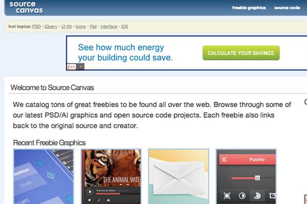 source canvas online freebies source code download