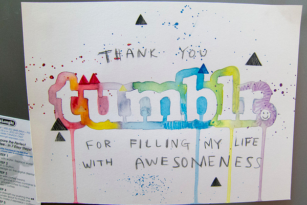 tumblr photo logo paint illustration