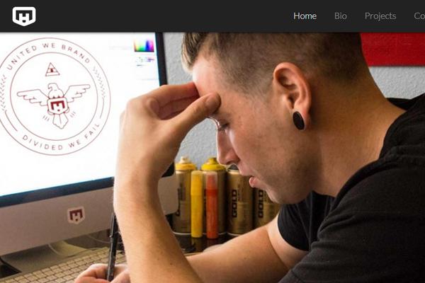 mathew helme graphics web designer portfolio