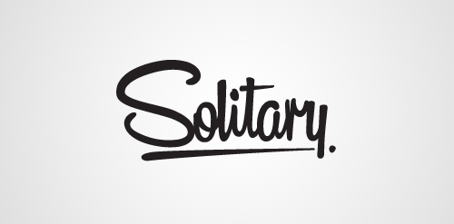 solitary clothing website logo design inspiration