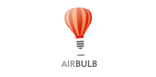 air balloon weather logo design inspiration