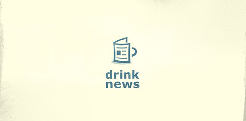 drink news coffee mug inspiration logo