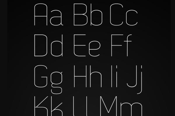 dekar web font icons typography design