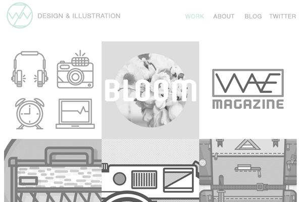 zachary vandehey illustrator branding webstie portfolio
