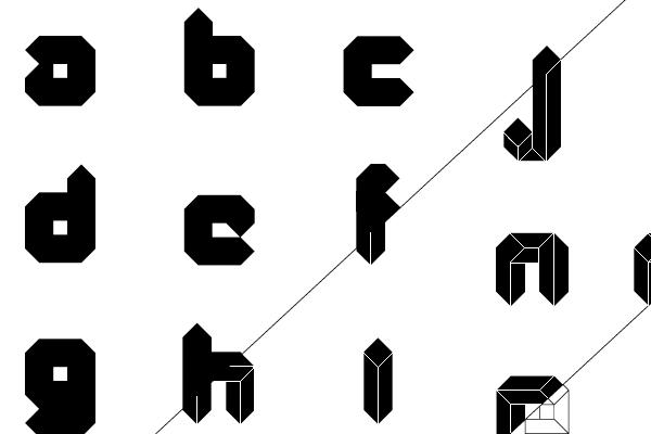 quad typeface typography font freebie