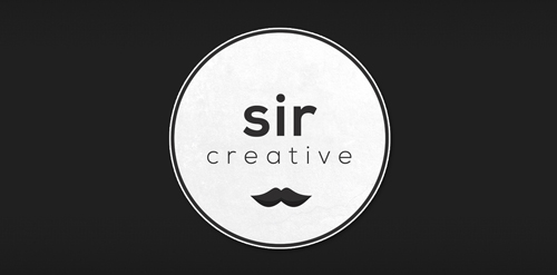 mustache sir creative company website logo