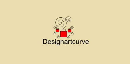 design art interactive logo bright design