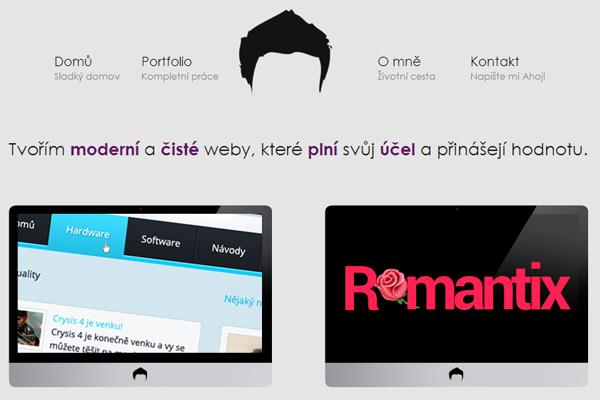martin gorol designer portfolio website
