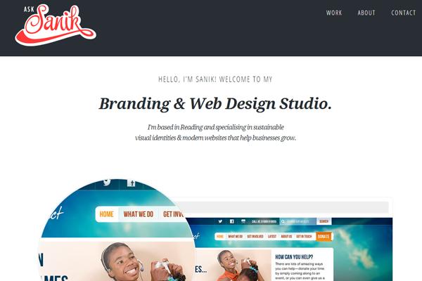 portfolio design examples