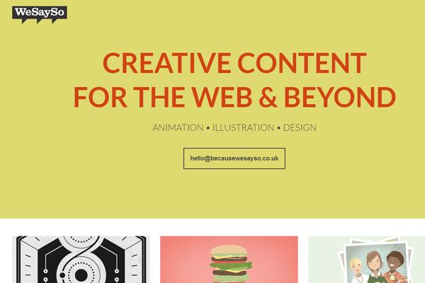 wesayso wes west portfolio designer