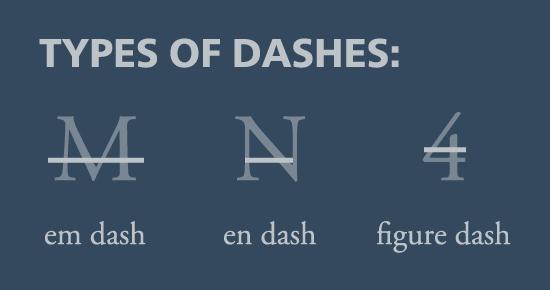 typesofdashes
